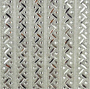 "Iron-on Rhinestone Sheet - 15 3/4"" x 9 1/2"" -  BRST-28"