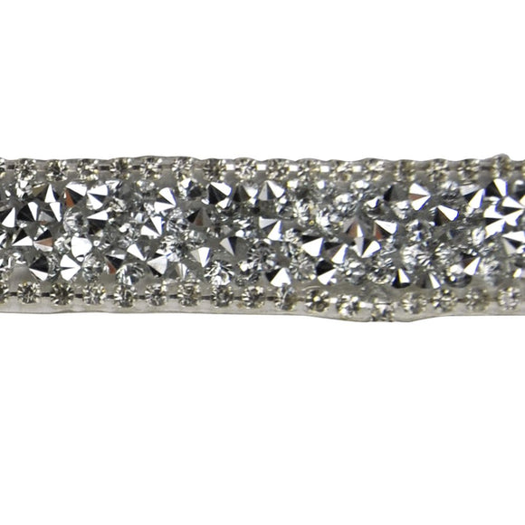 Iron-On Rhinestone Banding BRSY-20-49