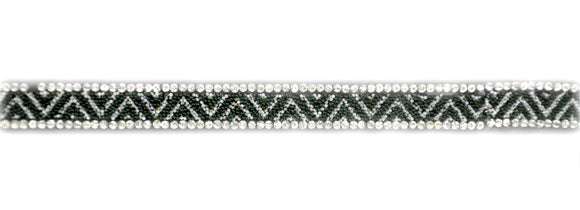 BRSY-23 Iron-On Rhinestone Trim