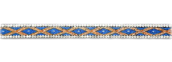 BRSY-24 Iron-On Rhinestone Trim