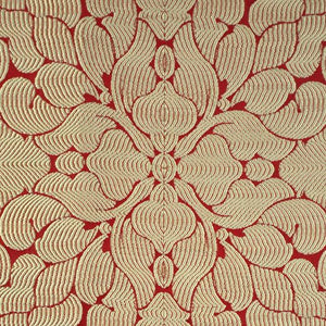 """Spring"" Fabric (Scarlet color)"