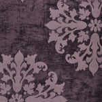 """Monterey Court"" Fabric (Plum color)"