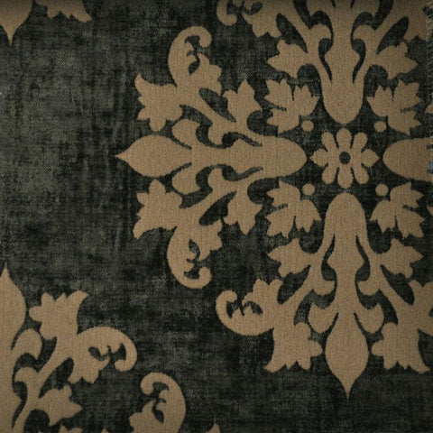 """Monterey Court"" Fabric (Umber color)"