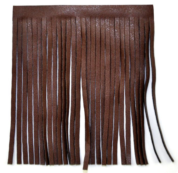 Faux Leather Fringe 4