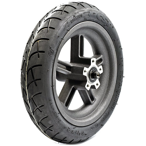 Rear Wheel Rim With CST Rubber Tire And Tube For Xiaomi M365 (M365 Only)