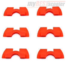 6 Piece Rubber Vibration Damper Set