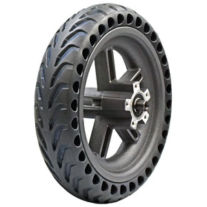 Rear Wheel Rim With Solid Tire For Xiaomi E-Scooters