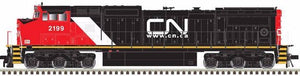 ATLAS CLASSIC SILVER #10 002 283 - DASH 8-40CW - HO - Canadian National #2199 - DCC-Ready - [IN STOCK]
