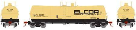 ATHEARN #16659 - 16,000 Gallon Tank Car - Elcor Chemical - #GATX 92125 - [CLICK on the picture for more information] - [RESERVE for Delivery in October 2019] - [$0 to Reserve -$46.95 on Delivery]