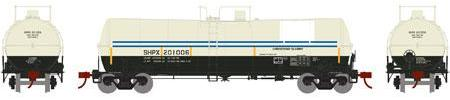 ATHEARN #16667 - 16,000 Gallon Tank Car - Shippers Car Line - SHPX 201006 [Ex OMYA] - [RESERVE for Delivery in December 2019] - [$0 to Reserve - US$35.98 on Delivery]