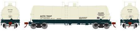 ATHEARN #16672 - 16,000 Gallon Tank Car - American Car & Foundry - #ACFX 76251 - [RESERVE for Delivery in December 2019] - [$0 to Reserve - $35.98 USD on Delivery]