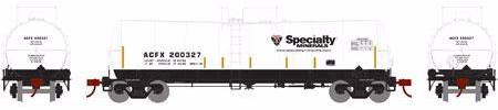 ATHEARN #16676 - 16,000 Gallon Tank Car - Specialty Minerals - #ACFX/Specialty 200338 - [CLICK on the picture for more information] - [RESERVE for Delivery in October 2019] - [$0 to Reserve -$46.95 on Delivery]
