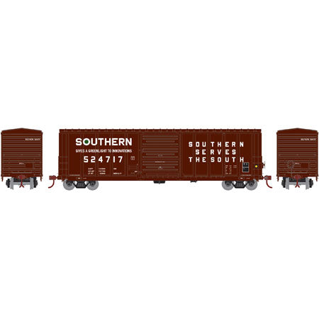ATHEARN #17837 - 50' PS 5277 Box Car - Southern - #524717 - [IN STOCK]