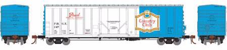 ATHEARN #18417 - NACC 50' Box Car - Pearl Brewing - #PBGX 147 - [RESERVE for Delivery in July 2019] - [$0 to Reserve -$45.95 on Delivery]
