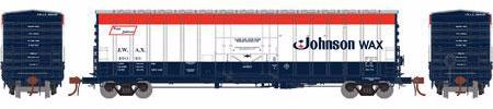 ATHEARN #18423 - NACC 50' Box Car - Johnson Wax - #JWAX 49072 - [CLICK on the picture for more information] - [RESERVE for Delivery in September 2019] - [$0 to Reserve -$45.95 on Delivery]