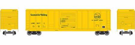 ATHEARN #26609 - HO - 50' PS 5344 Box Car - Lamoille Valley - #LVRC 5017 - [RESERVE for Delivery in January 2020] - [$0 to Reserve - US$32.98 on Delivery]