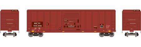 ATHEARN #28248 - HO - 50' PS 5344 Box Car - Union Pacific - #BKTY 152256 - [RESERVE for Delivery in January 2020] - [$0 to Reserve - US$32.98 on Delivery]