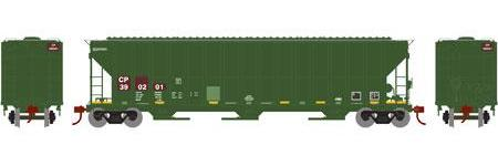 ATHEARN #81991 - FMC 4700 Covered Hopper - Canadian Pacific - #CP 390201 - [IN STOCK]