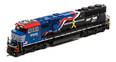 ATHEARN GENESIS #G65204 - SD60E - Norfolk Southern - #6920 - DCC-Ready - [RESERVE for Delivery in February 2019] - [$0 to Reserve -$324.95 on Delivery]