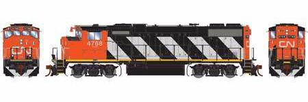 ATHEARN GENESIS #G65391 - HO - GP38-2[W] - Canadian National - #4768 - DCC-Ready - [RESERVE for Delivery in January 2020] - [$0 to Reserve - US$161.48 on Delivery]