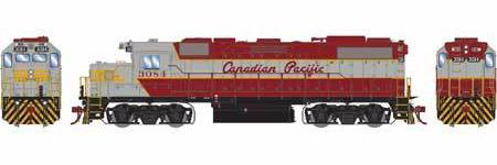 ATHEARN GENESIS #G65498 - HO - GP38-2 - Canadian Pacific - #3084 - DCC &Sound - [RESERVE for Delivery in January 2020] - [$0 to Reserve - US$237.98 on Delivery] [*** 19-038]