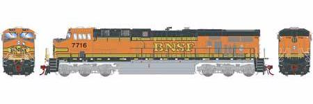 ATHEARN GENESIS #G83129 - ES44DC - BNSF - #7716 - DCC & Sound - [RESERVE for Delivery in January 2020] - [$0 to Reserve - US$271.98 on Delivery]