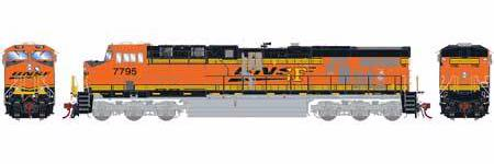 ATHEARN GENESIS #G83132 - HO - ES44DC - BNSF - PATCH REPAIR - H2 - #7795 - DCC & Sound - [RESERVE for Delivery in January 2020] - [$0 to Reserve - US$271.98 on Delivery] [*** 19-037]