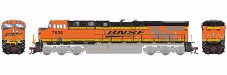 ATHEARN GENESIS #G83133 - HO - ES44DC - BNSF - H2 - #7626 - DCC & Sound - [RESERVE for Delivery in January 2020] - [$0 to Reserve - US$271.98 on Delivery] [*** 19-038]