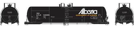 ATHEARN #15775 - RTC 20,900 Gallon Tank Car - Government of Alberta - #UTLX 58020 - [RESERVE for Delivery in May 2019] - [$0 to Reserve -$55.95 on Delivery]