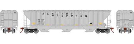 ATHEARN #18773 - HO - PS 4740 Covered Hopper - Reading Blue Mountain & Northern - #RBMN 9594  -  [RESERVE for Delivery in January 2020] - [$0 to Reserve - US$31.98 on Delivery] - [*** 19-030]