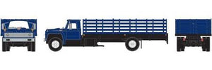 ATHEARN #25995 - F850 Stakebed Truck - Blue - [IN STOCK]