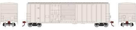 ATHEARN #26681 - 50' FMC Combo-Door Box Car - Undecorated - [CLICK on the picture for more information] - [RESERVE for Delivery in December 2018] - [$0 to Reserve -$40.95 on Delivery]