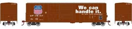 ATHEARN #26699 - 50' FMC Combo-Door Box Car - Union Pacific - #UP 170444 - [CLICK on the picture for more information] - [RESERVE for Delivery in December 2018] - [$0 to Reserve -$40.95 on Delivery]