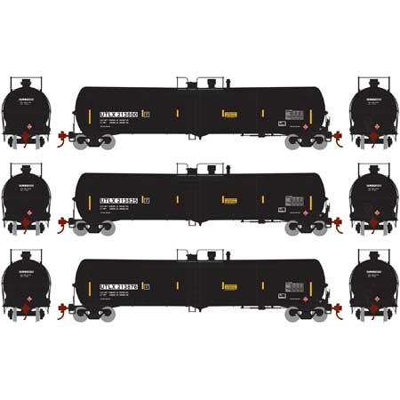 ATHEARN #28270 - 30,000 Gallon Ethanol Tank Car - Union Tank Car - 3-Pack #3 - [RESERVE for Delivery in December 2018] - [$0 to Reserve -$155.95 on Delivery]