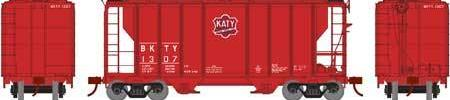ATHEARN #63762 - PS-2 2600 Covered Hopper - Missouri-Kansas-Texas - #BKTY 1307 - [RESERVE for Delivery in September 2019] - [$0 to Reserve - US$44.98 on Delivery]