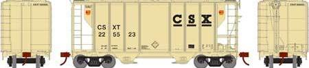 ATHEARN #63766 - PS-2 2600 Covered Hopper - CSX - #CSXT 225531 - [RESERVE for Delivery in July 2019] - [$0 to Reserve -$58.95 on Delivery]