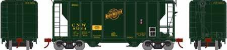 ATHEARN #63776 - HO - PS-2 2600 Covered Hopper - Chicago & North Western - #CNW 95783 - [RESERVE for Delivery in September 2019] - [$0 to Reserve - $44.98 USD on Delivery]