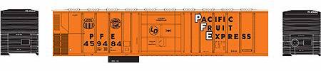 ATHEARN #71181 - PC&F 57' Mechanical Reefer - Pacific Fruit Express - #PFE 457436 - [RESERVE for Delivery in September 2019] - [$0 to Reserve -$38.95 on Delivery]