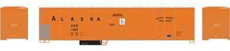 ATHEARN #71459 - PC&F 57' Mechanical Reefer - Alaska Railroad - #ARR 11505 - [RESERVE for Delivery in April 2019] - [$0 to Reserve - US$29.98 on Delivery]