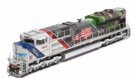 ATHEARN GENESIS #G19430 - SD70ACe - Union Pacific - #1943 [Spirit of Union Pacific] - DCC-Ready - [RESERVE for Delivery in December 2018] - [$0 to Reserve -$324.95 on Delivery]