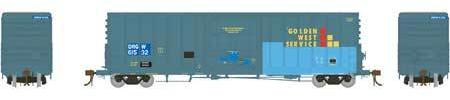 ATHEARN GENESIS #G26659 - PC&F 50' Plug Door Box Car with 10'6