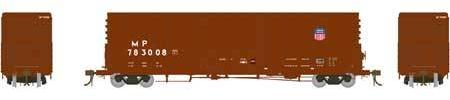 ATHEARN GENESIS #G26664- PC&F 50' Plug Door Box Car with 10'6