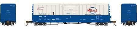 ATHEARN GENESIS #G26667 - PC&F 50' Plug Door Box Car with 10'6