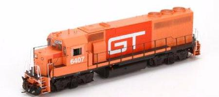 ATHEARN GENESIS #G40918 - GP40-2 - Ph I - Grand Trunk #6407 - DCC-Ready - [IN STOCK]