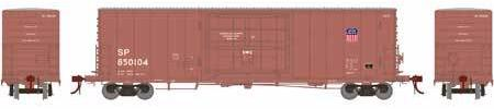 ATHEARN GENESIS #G69384 - PC&F 50' SS Box Car with 14' Plug Doors  - Union Pacific [Ex SP] - #SP 850110 - [Click on the picture for more information] [RESERVE for Delivery in August 2019] - [$0 to Reserve -$51.95 on Delivery]