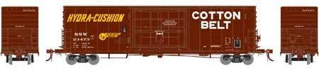 ATHEARN GENESIS #G69389 - PC&F 50' SS Box Car with 14' Plug Doors  - Cotton Belt - #SSW 24012 - [RESERVE for Delivery in OCTOBER 2019] - [$0 to Reserve - US$39.98 on Delivery]
