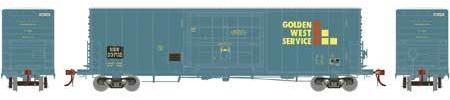 ATHEARN GENESIS #G69397 - PC&F 50' SS Box Car with 14' Plug Doors  - Cotton Belt [Ex GVSR] - #SSW 23722 - Primed For Grime [Click on the picture for more information] [RESERVE for Delivery in August 2019] - [$0 to Reserve -$51.95 on Delivery]