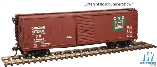 ATLAS #20 004 356 - HO - USRA Steel Rebuilt Box Car - Canadian National #470047 - [IN STOCK]