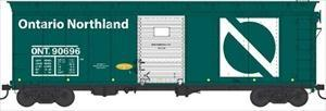 BOWSER #41784 - 40' Steel-Side Box Car - Ontario Northland - #ONT. 90696 - [IN STOCK]