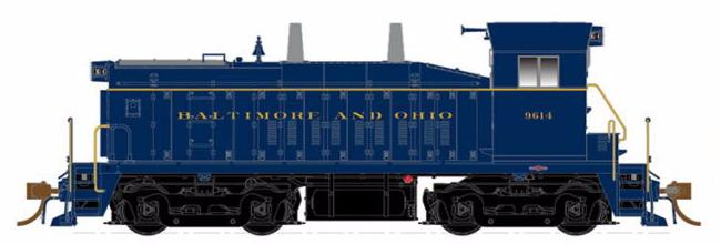 RAPIDO TRAINS #027001 - SW1200 - HO - Baltimore & Ohio #9614 - DCC-Ready - [RESERVE for Delivery in December 2019] - [$0 to Reserve - $249.95 on Delivery] [*** 19-041]